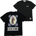 ANIMALIA[アニマリア]半袖インディアンTシャツ/BLACK