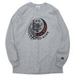 BLUCOWORKGARMENT[ブルコワークガーメント]長袖オールバイトTシャツ/GRAY