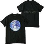 LIVEINFABEARTH[リブインファブアース]半袖アースTシャツ/BLACK