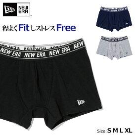 ニューエラ NEWERA ボクサーパンツ アンダーウエア パンツ pant underwear コットン メンズ 下着 プレゼント ギフト シンプル ニューエラー 正規品