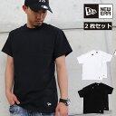 ニューエラ Tシャツ 2枚セット NEW ERA ニューエラー Tシャツ 2PACK TEE SHIRT NEWERA メンズ レディース