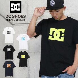 DC Tシャツ ディーシーシューズ シャツ メンズ レディース 白 黒 シンプル 夏 おしゃれ