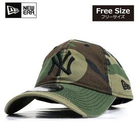 ニューエラ NEWERA キャップ 9TWENTY 帽子 カモフラ ヤンキース NY 定番 ローキャップ メンズ レディース