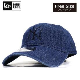 ニューエラ NEWERA キャップ 9TWENTY 帽子 デニム ヤンキース NY 定番 ローキャップ メンズ レディース