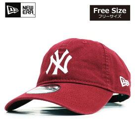 ニューエラ NEWERA キャップ 9TWENTY 帽子 レッド ヤンキース NY 定番 ローキャップ メンズ レディース