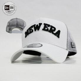 ニューエラ ゴルフ メッシュキャップ NEW ERA GOLF キャップ メッシュ 帽子 ぼうし ロゴ ホワイト ラウンド 夏 スポーツ アウトドア 通気性抜群 紫外線対策 ロゴ ニューエラー ぼうし