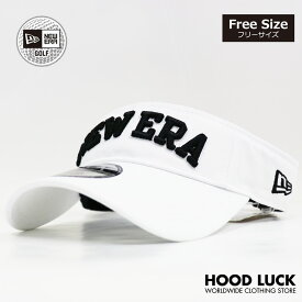 ニューエラ ゴルフ サンバイザー NEW ERA GOLF キャップ 帽子 サンキャップ メンズ レディース ホワイト