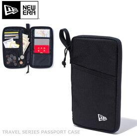 ニューエラ NEW ERA ポーチ ブランド メンズ レディース おしゃれ パスポートケース ブラック 海外旅行 母子手帳ケース 入れ物 無地 ママ