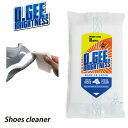 O.GEE BRIGHTNESS TISH オージーブライトネス ウェットティッシュ スニーカークリーナー シューズクリーナー 靴磨き …