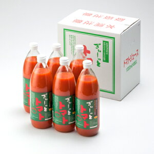 トマトジュース 無塩 北海道産トマト トマトジュース 1000ml×6本入 1ケース(1箱)価格 9072円 北海道のトマトジュース 無塩