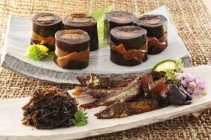 送料無料 煮魚 セット 「北の昆布・甘露煮セット(和)」 紅鮭 ほたて 昆布巻 ししゃも 昆布巻 生姜昆布 甘露煮 北海道産 昆布 佃煮