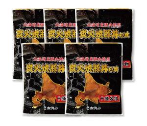 送料無料 豚丼 北海道 炭火焼 豚丼の具 100g×5パック ギフト 簡単 レンジ対応 十勝名物 北海道産豚肉 帯広 豚丼 ギフト 北海道 国産
