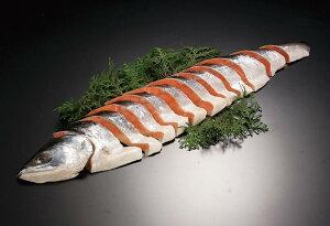 北海道 鮭 切り身 お歳暮 「時鮭姿切り身 半身1kg」 時鮭 ギフト 時不知 鮭 ギフト トキシラズ お歳暮 鮭 御歳暮 さけ 切身 個包装 魚 お歳暮ギフト 海産物 海鮮