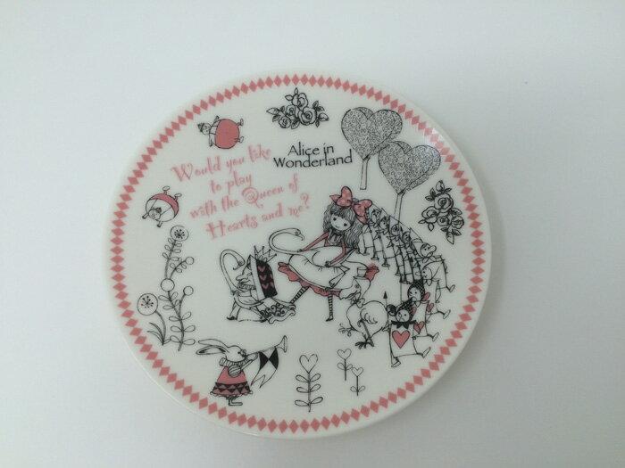 【在庫限定品】Shinzi Katoh 中皿 Alice in Wonderland 径15.5×高さ2.2cm