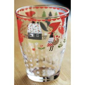 【在庫限定品】Shinzi Katoh スリールタンブラー(小) tittie red hood 満水容量180ml