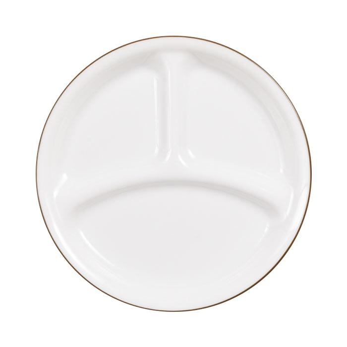 コレール タフホワイト ネイチャー ランチ皿(小) 径21.5cm J385-CRB CP-9441