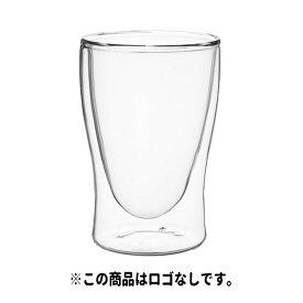 ヒューレックス 耐熱ダブルウォールグラス 容量:220ml ※この商品はロゴなしです。
