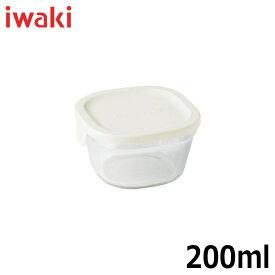 iwaki(イワキ) 保存容器 パック&レンジ プチ TYY3200-W 満水容量200ml カラー:ホワイト