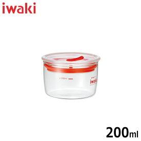 iwaki(イワキ) 保存容器 密閉クリアパック 実用容量200ml