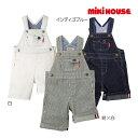 ミキハウス正規販売店/ミキハウス mikihouse デニム7分丈オーバーオール(S・M・L)
