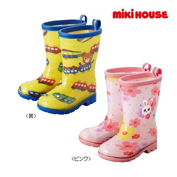 ミキハウス【MIKI HOUSE】プッチー&うさこ☆レインブーツ(長靴)(13cm-17cm)