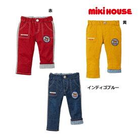 ミキハウス正規販売店/(海外販売専用)ミキハウス mikihouse プッチー異素材パンツ(80cm・90cm)