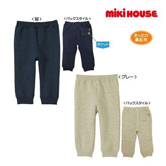 Miki房屋Every Day mikihouse M针脚背后起毛裤子(80cm.90cm.100cm.110cm.120cm.130cm)