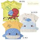 キッズズー Kids zoo クジラ・サメ・タコTシャツ/丸高衣料(80cm・90cm)