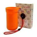 ペットの足洗いカップ&ブラシJABLLA(ジャブラ)【カラー:オレンジ】特許取得のオンリーワングッズ!ジャブラでしか…