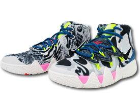 "KS716 キッズ/ジュニア Nike Kyrie Irving Kybrid S2 (GS) ""What The 2.0"" ナイキ ""カイリー・アービング"" バスケットシューズ バストグレーセイル【箱なし】"