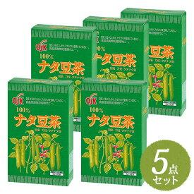 【送料無料】OSK ナタ豆茶 160g (5g×32袋) まとめ買い5点セット【小谷穀粉】