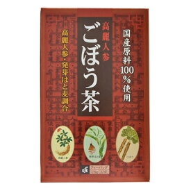 OSK 高麗人参入 ごぼう茶 128g(4g×32袋)【小谷穀粉】