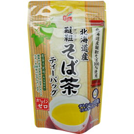 OSK 北海道産韃靼そば茶 ティーバッグ 5.5g×15袋【小谷穀粉】