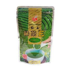 OSK 粉末緑茶 Eライフ 100g 【小谷穀粉】