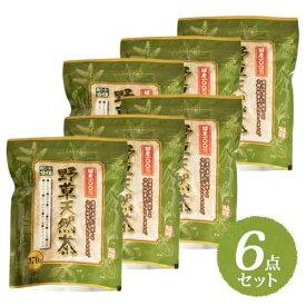 【送料無料】【国産100%】 ホープフル 十種配合野草天然茶 370g まとめ買い6点セット【HOPEFULL】自然に自生する野草の効能を取り入れた健康維持や美容によいとされる10種類の野草を独自配合。当店オリジナル商品 国産十草天然茶