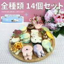 OVER MACARON 全種類14個セット 韓国式手作りトゥンカロン