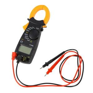 デジタルクランプメーター 電流測定器 AC/DC両用 マルチメーター クランプ式非接触計 電流計 電圧計 電子テスター マイクロメーター 抵抗試験器 テストリード付 HOP-MMDT3266 送料無料