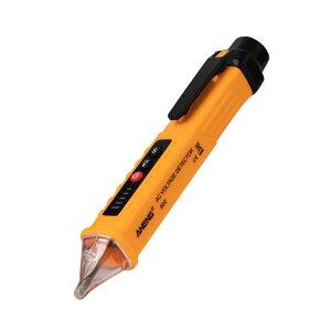 ペン型テスター AC交流 検電器 電圧 非接触電圧検出器 電気テスター LEDライト搭載 チェック 計測工具 AEVD802 送料無料