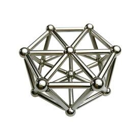 マグネットビルディング 強力磁石の立体パズル 磁気スティック36本+ボール27個 集中力向上 暇つぶし お子様のプレゼントに HOP-BUCKS3627 送料無料