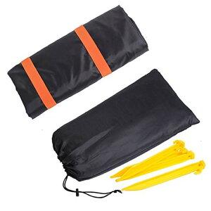 ペグ4本/ポーチ付き 折畳レジャーシート&ショルダーバッグ 2in1 グランドシート 撥水加工 水洗い可 ショルダーバッグに変身 収納便利 HOP-STBAG145 送料無料