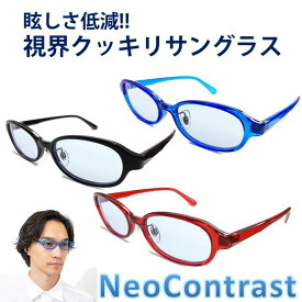 レディース メンズ ネオコントラスト サングラス 眩しさ 改善 女性 まぶしさ 緩和 眼病予防 白内障 術 後 予防 加齢 ライト 眩しい まぶしい 防眩 遮光 軽減 アイケア 用 紫外線 対策 uvケア 術後 白内障予防 おすすめ uvカット NeoContrast メガネ 眼鏡