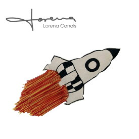 LORENA CANALS ロレーナカナルズ ロケット クッション おしゃれ インポート ハンドメイド 輸入 おしゃれ 赤ちゃん 子供部屋 プレイルーム 手作り