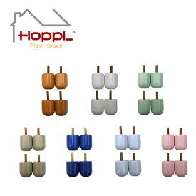 【公式ストア】HOPPL ホップルKids Bed キッズベッド専用 レッグ4個セット キッズ 1人寝 北欧 3歳 4歳 5歳 6歳 7歳 木製 子供 人気 幼稚園 保育園 入園 入学