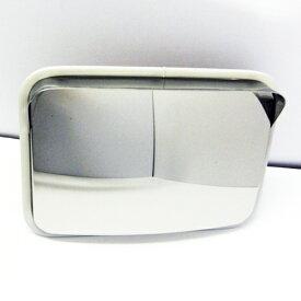 ステンレス製カーブミラー(ガレージミラー) HPS-角30グレー