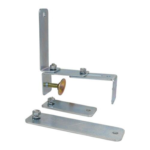 カーブミラー (ガレージミラー)小型専用(はさみ込み)クランプ取付金具 Lタイプ HP-金具C