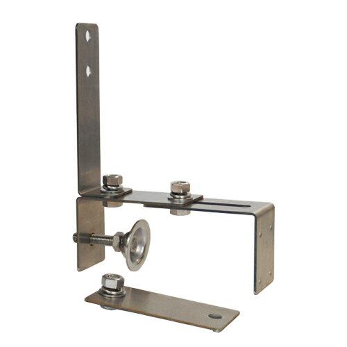 カーブミラー (ガレージミラー)小型専用(はさみ込み)クランプ取付金具 ステンレス製 サビない