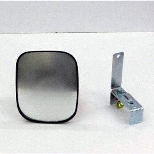 カーブミラー (ガレージミラー) HP-角10クランプ 黒