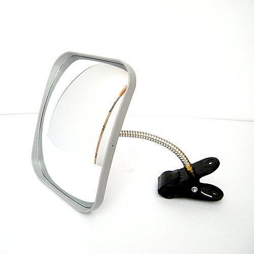 カーブミラー(ガレージミラー) HP-角20クリップ グレー