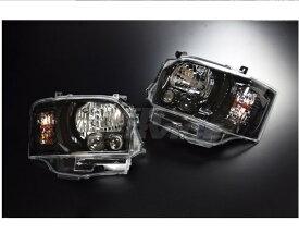 CRS シーアールエス ESSEX ハイエース レジアスエース 200系 1〜3型 4型LEDルックハロゲンヘッドライト 4型フェイスチェンジ用