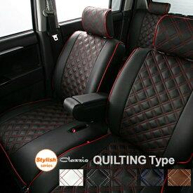 ヴェゼル シートカバー RU3 RU4 後期 一台分 クラッツィオ EH-2011 キルティング タイプ シート 内装